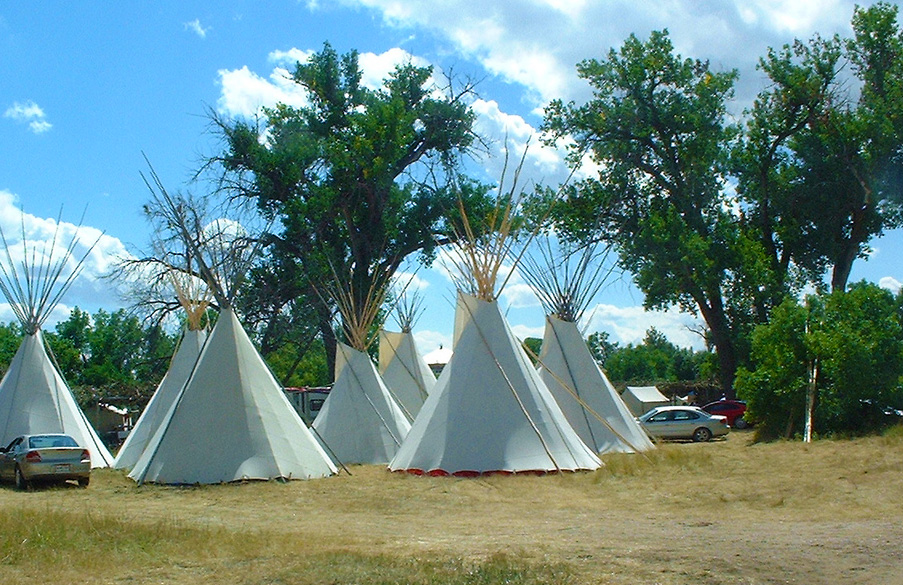 Postavitev tipi kampa